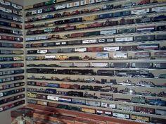 Ceiling o gauge train wall mounted - YouTube | Model ...