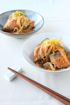 柚子風味 鮭の和風甘酢マリネ by しぎはら ちづ   レシピサイト「Nadia   ナディア」プロの料理を無料で検索