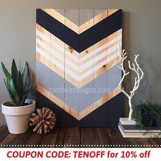 Mur en bois bois mur dArt moderne décoration murale de
