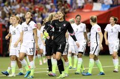 After the win against Germany, June 30, 2015. (Elsa/Getty Images North America)