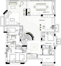 Gölbaşı project- basement floor