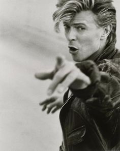 Planet earth is blue…………..David Bowieby Herb Ritts