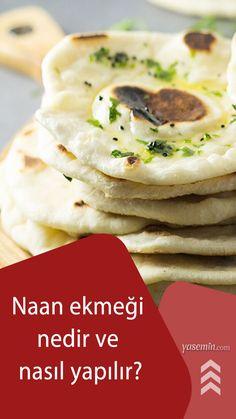 Hindistan mutfağının en meşhur lezzetlerinden biri olan Naan ekmeği, biraz kalın açılmış yufkaya benziyor. İsteyen sade bir şekilde yese de en muhteşem özelliği sarımsaklı sos ile servis edilmesidir. Peki evde naan ekmeği nasıl yapılır? Naan ekmeğinin püf noktaları nelerdir? Gelin birlikte öğrenelim... Mashed Potatoes, Ethnic Recipes, Food, Whipped Potatoes, Smash Potatoes, Eten, Meals, Shredded Potatoes, Diet