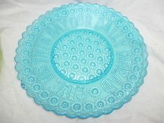 http://www.ebay.com.au/itm/LARGE-VINTAGE-BLUE-FLINT-GLASS-PLATE-Our-Daily-Bread-pattern-/281090593862?hash=item41724e1446:g:YmEAAOxy7RBRY~gH