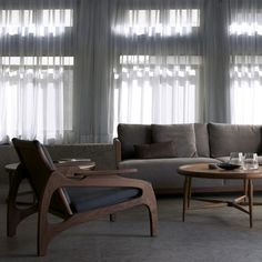 White Curtains Mural | The Pepin Shop for carefully chosen design, fashion, furniture and wall decor products