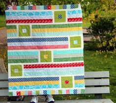 A little back to school quilt