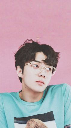 K-pop exo sehun Kpop Exo, Chanyeol Baekhyun, Park Chanyeol, K Pop, Exo Lucky One, Rapper, Kdrama, Sehun Cute, Actor