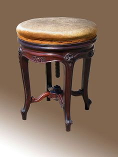 Humor Antique Edwardian Mahogany Piano/dressing Table Stool Benches/stools