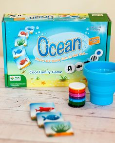 Amazon.com: Ocean - Educational Family Game that Promotes Cognitive Skills - Fun for Kids and Adults Ages 3 and Up: Toys & Games