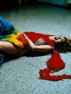 Asylum Jane, March 2003 by Wayne Maser Model: Tatjana Patitz