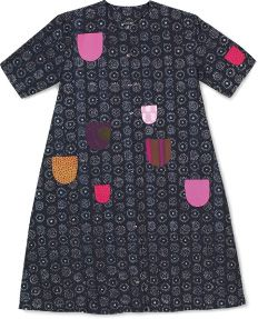 Marimekko - I LOVE this dress! When I was a little kid, I was so ENVIOUS to all who had it... now I'm a bit... hmm... because the colors are weird. Marimekko is otherwise nice, but THE COLORS!!!