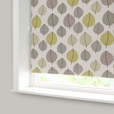 Lounge? Might go nicely with the sofa? Green Regan Blackout Roller Blind | Dunelm