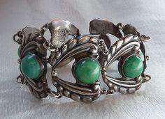 Signed AEM Mexican Sterling Bracelet