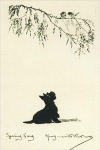 Scottish Terrier KIRMSE 1930 ~ New Note Cards