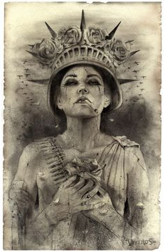 """When California based painter Brian M. Viveros debuted his """"Matador"""" series last year, he unleashed a side of his sultry, smokey-eyed vixens that hadn't been seen before. His subj…"""