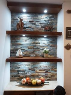 Diy Home Bar, Bars For Home, Diy Home Decor, Art Decor, Living Room Partition Design, Room Partition Designs, Home Living Room, Living Room Decor, Dining Room