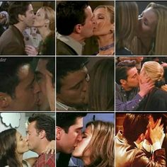 They kissed each other except for monica-rachel and ross-chandler and ross-monica