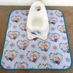 Handmade messy mat f