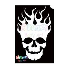 Glimmer Body Art Glitter Tattoos - Flaming Skull (10/pack) by Glimmer Body Art. $7.00. Glimmer Body Arts Glitter Tattoos are non-latex, hypoallergenic and meet all cosmetic grade safety standards. Glitter Tattoos should not be applied to the face or eyes and stencils should be used only once.. Glimmer Body Art Glitter Tattoos are so easy to use that even a beginner can create amazing looking glitter tattoos in minutes. Glimmer Body Art Flaming Skull Glitter Tatto...