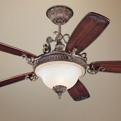 "56"" minka aire napoli tuscan patina ceiling fan style # 95536"