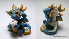 Dragon with cupcake by SweetMayDreams.deviantart.com on @deviantART