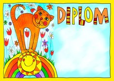 Pro školy – Obrázkový ostrov Lenky Procházkové All Schools, Preschool Crafts, Tweety, Disney Characters, Fictional Characters, Kindergarten, Children, Frame, Pictures