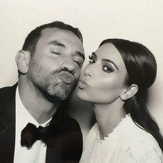 Riccardo Tisci & Kim Kardashian kimye wedding
