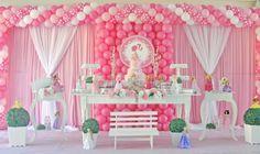 cachepo com balão rosa bolinha - Pesquisa Google
