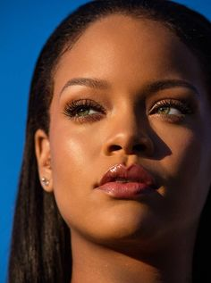 Fenty Beauty has changed the cosmetics industry forever – compelling others to keep up with its revolutionary range and putting inclusivity top of the agenda. Candice Carty-Williams, author of Queenie, celebrates Rihanna's game-changing brand Rihanna Outfits, Rihanna Fenty Beauty, Rihanna Makeup, Rihanna Riri, Rihanna Style, Beyonce, Rihanna Photoshoot, Rihanna Song, Rihanna Fashion