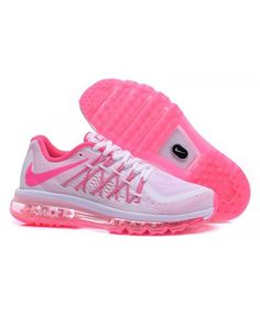 huge discount 64844 6be02 Femme Nike Air Max 2015 Blanc Rose Chaussures