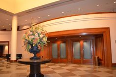 Conference Center Theater Lobby - What a beautiful venue!