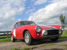 Ghia 1500 GT 1966 - color Rosso - remark: not a Fiat, but a real Ghia! #ghia #classiccar #oldtimer #carrelation