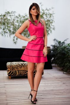 Pretty in Pink! Sexy Dresses, Cute Dresses, Beautiful Dresses, Casual Dresses, Short Dresses, Party Dresses, Moda Chic, Summer Outfits, Summer Dresses