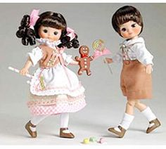 2007 - Hansel & Gretal Once Upon A Time Gift Set | Tonner Doll Company