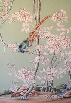 Bespoke Wallpapers by de Gournay Store Profile | Apartment Therapy