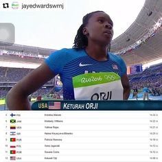 #Repost @jayedwardswrnj with @repostapp  #RNJSPORTS: Mount Olives Keturah Orji advances to final round in Rio Olympics which takes place tonight  RIO DE JANEIRO Brazil  Keturah Orji a 2014 Mount Olive High School graduate became the first U.S. woman to qualify for the triple jump final at the Olympics since Sheila Hudson in 1996.  Orji advanced to the final round which will take place Sunday August 14 at 7:55 p.m. EDT after clinching the 12th and final spot Saturday morning at the Olympic…