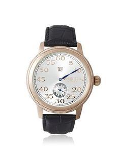 80% OFF Heritor Men's HERHR1003 Bohr Black/Silver Stainless Steel Watch