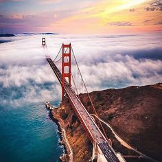 #Repost @capochino67:#incredible #Greensboro @_North_Carolina @US_UnitedStates  @dalytweet @Carolina_Golf  @Regrann from @usinterior -  #SanFranciscos iconic #GoldenGateBridge stretches into a sea of fog as seen from a helicopter. #Californias Golden Gate National Recreation Area (@goldengatenps) which borders the bridge is just as stunning at ground level. To the west Kirby Cove features fantastic views and camping while Fort Baker to the east offers crabbing kayaking and #hiking near a…