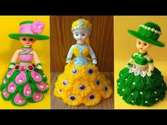 hello friends welcome to my chennal. Popsicle Stick Crafts, Craft Stick Crafts, Crafts For Kids, Arts And Crafts, Diy Crafts Kits, Doll Crafts, Paper Lotus, Craft From Waste Material, Woolen Craft