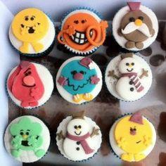 Mr Men Cupcakes Mr M