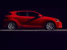 Lexus CT200H  Probably the only hatchback I would get, it's so cute and powerful.