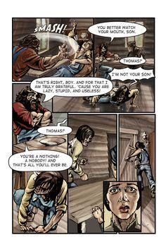 Call of Juarez comic book -Billy's story, p. 2
