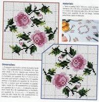 Gallery.ru / Фото #2 - ***** - celita Wedding Embroidery, Diy Embroidery, Cross Stitch Embroidery, Cross Stitch Rose, Cross Stitch Flowers, Counted Cross Stitch Patterns, Cross Stitch Designs, Yarn Shop, Easy Crochet Patterns