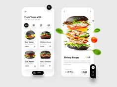 Food Mobile Application UX-UI Design by Ghulam Rasool on Dribbble App Ui Design, Mobile App Design, Web Design, Motion App, Restaurant App, Delivery App, Mobile App Ui, Ui Inspiration, Applications