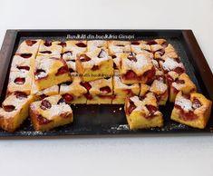 Prajitura cu iaurt si capsuni - Bunătăți din bucătăria Gicuței Ricotta, Waffles, French Toast, Cheesecake, Cakes, Cooking, Breakfast, Recipes, Food