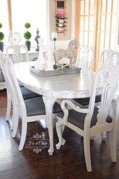 French Home Interior .French Home Interior Dark Wood Dining Table, Oak Dining Sets, Diy Dining Room Table, Dining Table Makeover, Dining Nook, Table And Chairs, Rustic Table, Dining Tables, Coffee Tables
