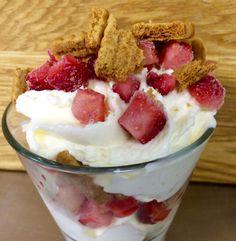 IJs met rood fruit en speculaas – Sport Foodblog