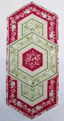 60 degree ruler table runner pattern - Yahoo Search Results