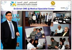 CME for the doctors of Medical Specialist Centre on 9/6/2014. We would  like to thank Dr Girish Juneja for his presentation on 'Obesity & its  Management'.  Here are a few glimpses from the seminar.  Visit website http://www.weightlosssurgerydubai.com/ for more details.