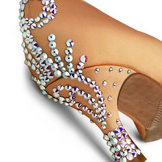 BeSparkle Crystallized Design SH554 | Dancesport Fashion @ DanceShopper.com